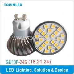 CE CB Approval SMD LED GU10 Spot bub light lamp Aluminum