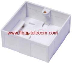 Mounting box wall plate