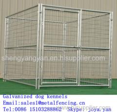 Pet house metal dog play pen 5 gauge galvanized steel wire welded mesh pens portable dog pens