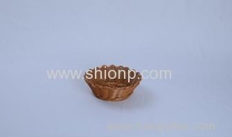 round rattan bread basket for hotel
