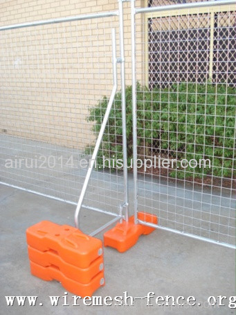 Cheap Hot dipped galvanized/powder coated temporary fence;chain link temporary fence
