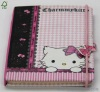 pink Hello Kitty diary with elastic