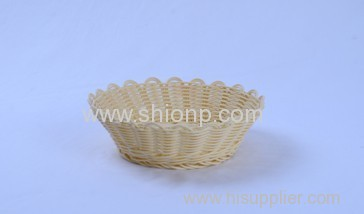 round rattan bread baskets for hotel