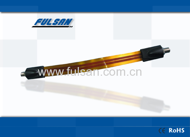 Cable plano flexible ventana puerta coaxial tv fabricantes for Regleta enchufe plano