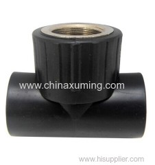 HDPE Socket Interal Thread Equal Tee Fittings
