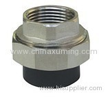 HDPE Socket Interal Thread Union with Brass Insert Fittings