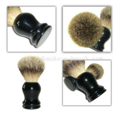 Silvertip Badger Brush with Black Handle