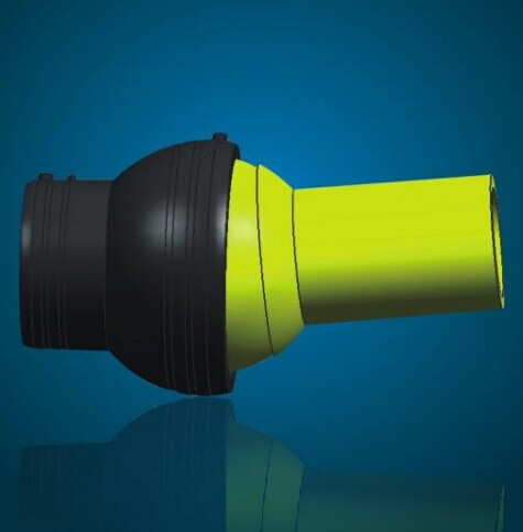 HDPE Electriofusion Adjustable Angle Pipe Fittings