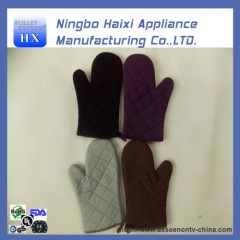 Flame Retardant Quilted heat resistant gloves