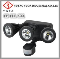 80 high-power aluminium led motion sensor spot light
