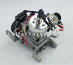 water cooled single cylinder petrol engine