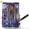 teenage hardcover diary with lock