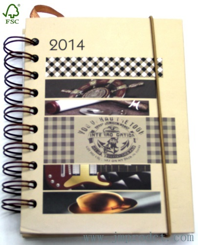 FSC approval agenda notebook with elastic