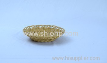 High quality round rattan basket for hotel