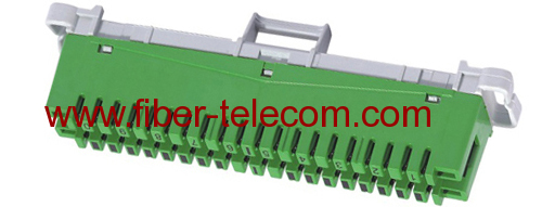 10 pair Disconnection Module green color
