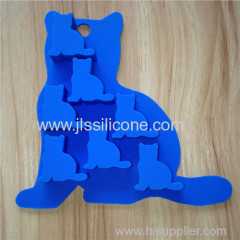 Cat Shape Silicone Cake