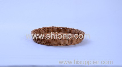 Round rattan bread basket high quality
