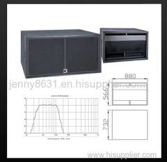 subwoofer high performance sub-bass system