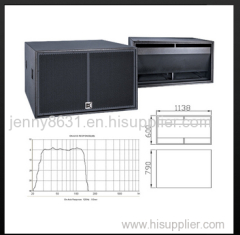 CVR hot sale subwoofer and high performance sub-bass system