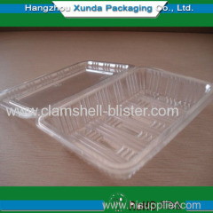 plastic clamshell packaging box