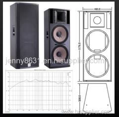CVR powerful 2-way full range loudspeaker system.