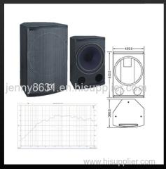 CVR mini speaker 2-way coaxial full range loudspeaker system