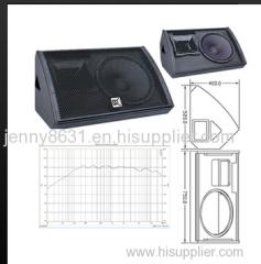 CVR two-way full range stage monitor speaker system