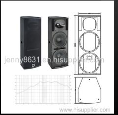 Q-215 is a 2-way, full range loudspeaker system