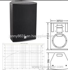 The K-102B is a three-way full range Karaoke loudspeaker