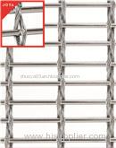 high quality metal fabric facade