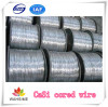 CaSi Cored wire metal process auxiliary for steel making China manufacturer price