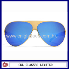 Frame Design Custom Mirrored Sunglasses in China