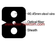 1fiber FTTH drop Cable with G.657A2 bending fiber