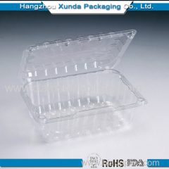 Fruit plastic packaging clamshell