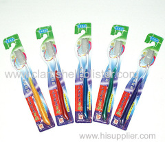 Toothbrush in blister pack