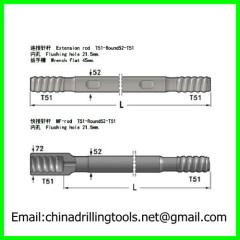 T51 MF drilling rod