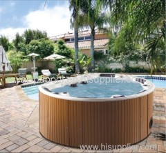 new outdoor spa design