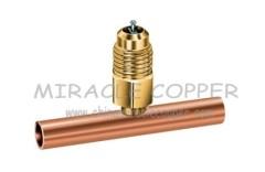 Copper Solder tee valve