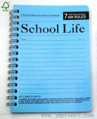 school life smart spiral notebook with pp cover