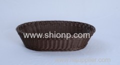 oval rattan bread baskets for hotel