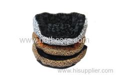 circle fleece dog bed,fashion design soft pet bed