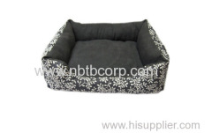 soft and luxury pet beds for dog,washable pet bed made of short fleece
