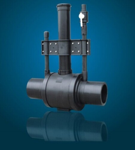 HDPE Single Diffusion Ball Valves Pipe Fittings