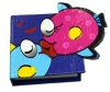 3D fish mini hardcover notebook for kids