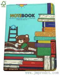 Cute bear notebook diary for kids