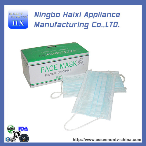 ghfgh 50pc breathable gauze disposable face masks