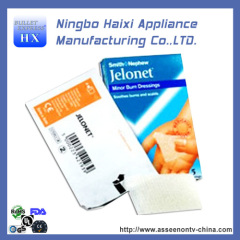 disposable Paraffin Gauze Swab for stop bl eeding and minor burns