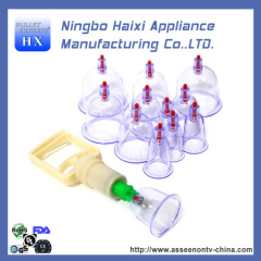 Vacuum Body Cupping set for Massage Therapy