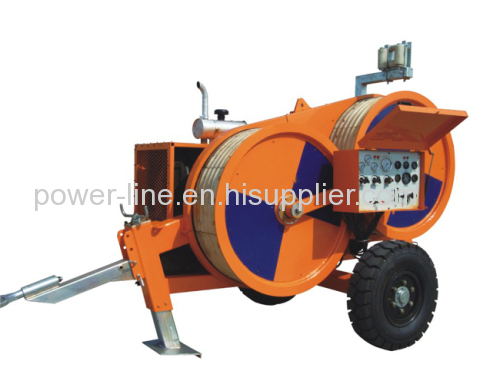 4 Ton Hydraulic Puller Tensioner with Reel Winder