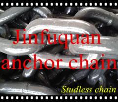 marine stud or studless link anchor chains